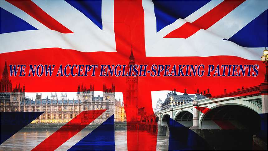 English speaking patients
